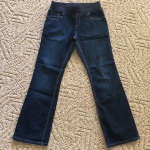 Boot cut maternity jeans size medium